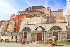 View of Hagia Sophia, Istanbul, Turkey Stock Photography
