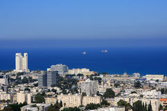 View of Haifa Stock Images