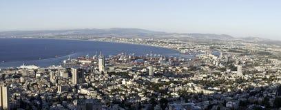 View of Haifa, Israel Royalty Free Stock Photo