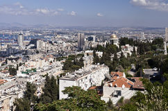 View of Haifa, Israel Stock Photo