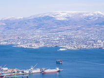 View of Hakodate cityscape, Japan Stock Photography