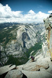 View from the Half Dome  Royalty Free Stock Photos