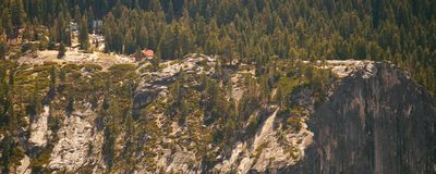 View from Half Dome Royalty Free Stock Photo