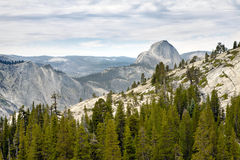 View of Half Dome Royalty Free Stock Image