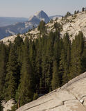 View on Half Dome Royalty Free Stock Photo