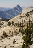 View on Half Dome Stock Photo