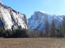 View of Half Dome Royalty Free Stock Images