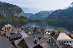 View of Hallstätter Lake Stock Photography