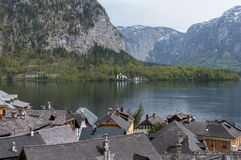 View of Hallstätter Lake Stock Image