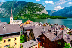 View of Hallstatt Stock Photography