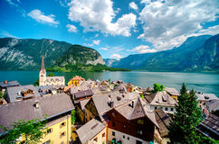 View of Hallstatt Stock Photo
