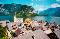 View of Hallstatt Royalty Free Stock Photo