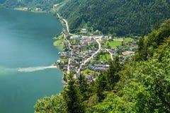 View of Hallstatt, Austria Royalty Free Stock Photos