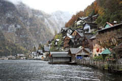 View of hallstatt a city in austria Royalty Free Stock Photo