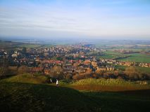 VIEW FROM HAM HILL stock photography