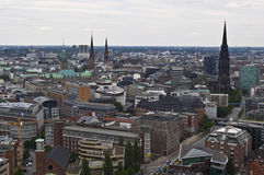 View of Hamburg Royalty Free Stock Photos
