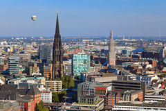 View on Hamburg Stock Image