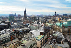 View of Hamburg, Germany Stock Images