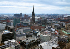 View of Hamburg, Germany Royalty Free Stock Photography