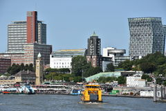 View of Hamburg in Germany Royalty Free Stock Photo