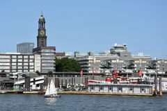 View of Hamburg in Germany Stock Photography