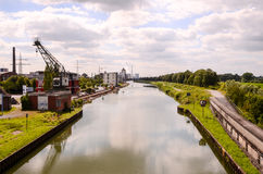 View of the Hamm River Stock Photo