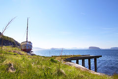View from Hammerfest, Norway II Stock Photos