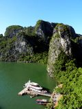 View From Hang Sung Sot. In Halong Bay, Vietnam Royalty Free Stock Images