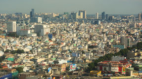 View of Hanoi from the top Royalty Free Stock Image