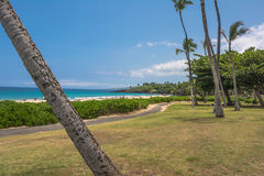 View of Hapuna Beach in Big Island, Hawaii Royalty Free Stock Image