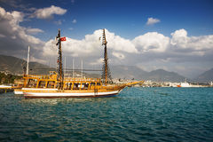 Alanya Harbor Royalty Free Stock Images