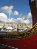 Harbor of Valletta royalty free stock photography