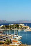 View Harbour from Datca Royalty Free Stock Images