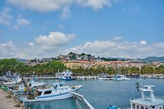 View From the Harbour Of La Spezia, Liguria, Italy royalty free stock images