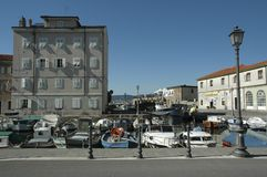 Muggia Harbour royalty free stock photos
