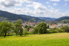 View of Harlach in Black Forest - Germany Stock Photography