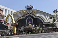 A View of Harrahs in Las Vegas, Nevada Stock Photo