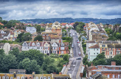 View of Hastings, East Sussex, England Stock Image