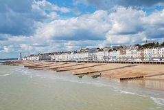 View from Hastings pier Royalty Free Stock Image