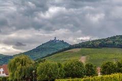 View of Haut-Koenigsbourg Castle, Alsace, France Stock Photos