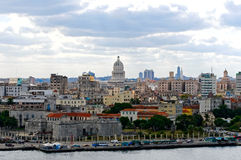 View of Havana royalty free stock image