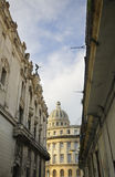 View of Havana Capitolio and typical architecture Royalty Free Stock Photo