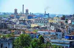 View of Havana vieja - old town, Cuba Stock Images
