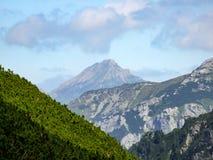 View on Havran peak in Belianske Tatra in Slovakia. royalty free stock image