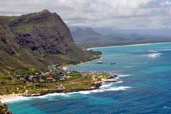 View of Hawaiian coastline Royalty Free Stock Photo