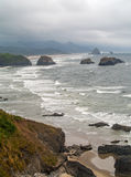 View of Haystack on the Oregon Coast Stock Photos