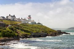 Roches Point lighthouse in Cork Ireland royalty free stock photography