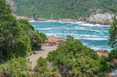 View at The Heads in Knysna Royalty Free Stock Photo