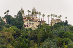 View of Hearst Castle Royalty Free Stock Photography