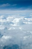 A view from heaven. A view of the clouds from above Stock Photos